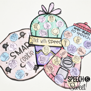 Speech Therapy Crafts for Articulation or Language!