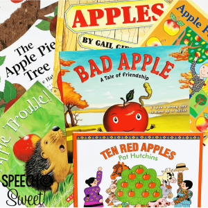 Apple picture books and read alouds