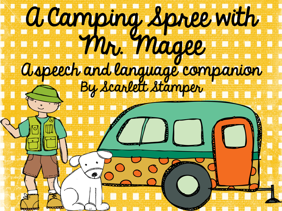 A Camping Spree With Mr Magee Speech Is Sweet